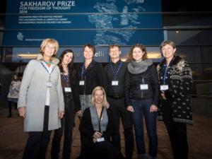 Sakharov Prize und Dolmetscher