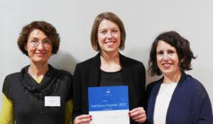 Übergabe des Nachwuchspreis der AIIC-RegionDeutahldn am 16.09.2017 in Bonn