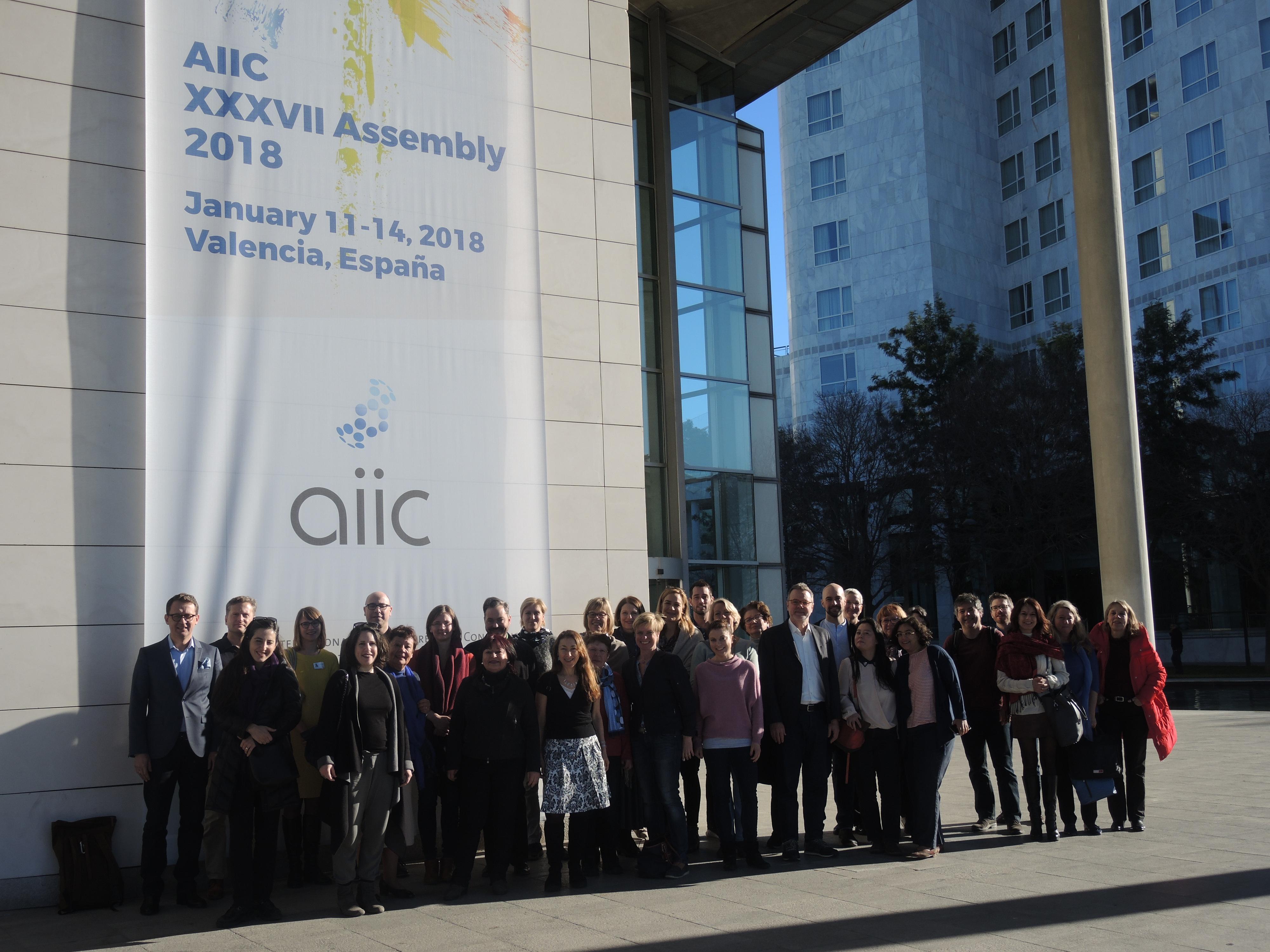 Dolmetscher Region AIIC Deutschland, 2018