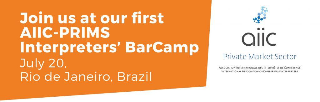 Dolmetscher BarCamp