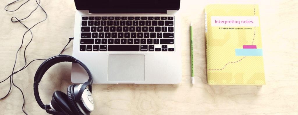 Remote Dolmetschen am Computer