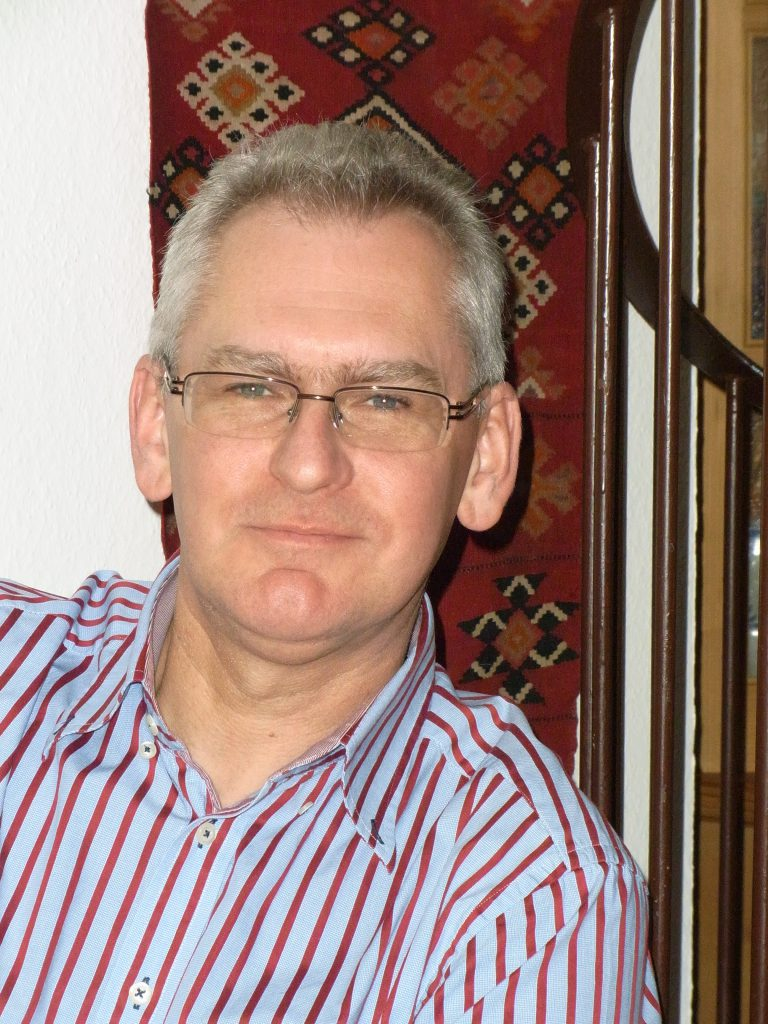 Roland Schmieger, Leiter des Dolmetschdienstes im Auswärtigen Amt in Berlin